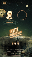 Invite friend to the game